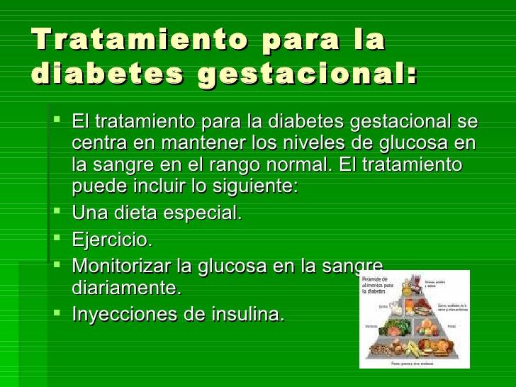 rango normal de glucosa en sangre para la diabetes gestacional
